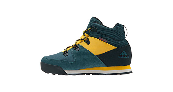 adidas Snowpitch CW Shoes Kids techgreenf16/coreblack/solargold